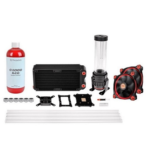 Thermaltak pacific rl240 d5 kit raffreddamento ad acqua