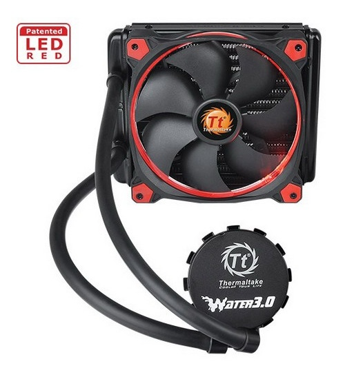 Thermaltak raf.liquido water 3.0 riing red 140 cl-w150-pl14re-a