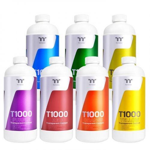 Thermaltake liquido raffreddamento t1000 yellow 1000ml cl-w245-os00ye-a
