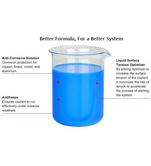 Thermaltake raff.liquido p1000 rosso anti corrosione base olio