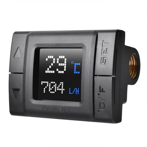 Thermaltak raff.liquidopacific tf2 lcd monitor temperature & flow indicator