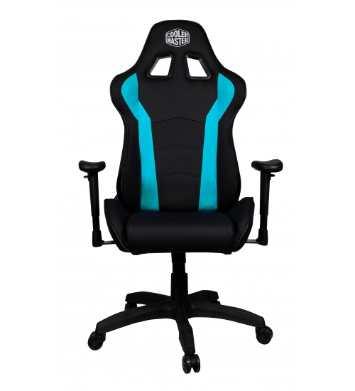 Cooler master gaming chair caliber r1 - ecopelle - blue