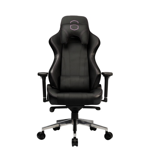 Cooler master gaming chair caliber x1 - ecopelle - black