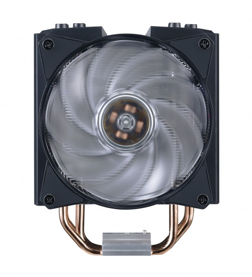 Ventola masterair ma410m, 120*25mm pwm fan, 600-1800rpm, 4x hp, addressable rgb led