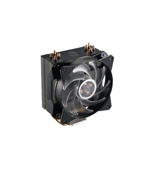 Ventola masterair ma410p, tower,120*25mm pwm rgb fan,650-2000rpm, 4x hp, small rgb led controller