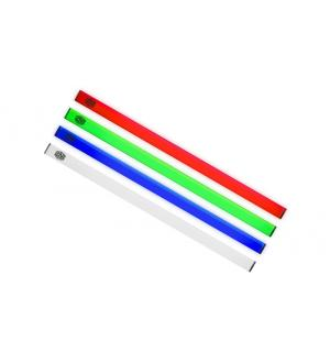 Universal led strip rgb with magnetic grip, aluminum housing