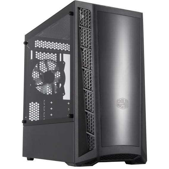 Case masterbox mb320l, 2usb3,audio i&o,2x combo 2.5/3.5,2x 2.5ssd,120mm rear fan,rad. supp.,no psu