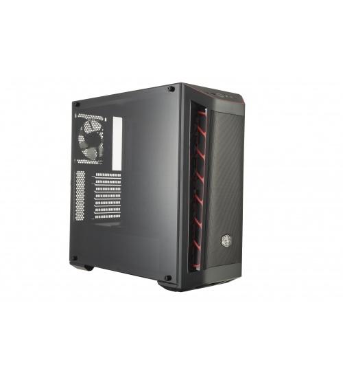 Case masterbox mb511 red trim mesh vers., usb3x2,