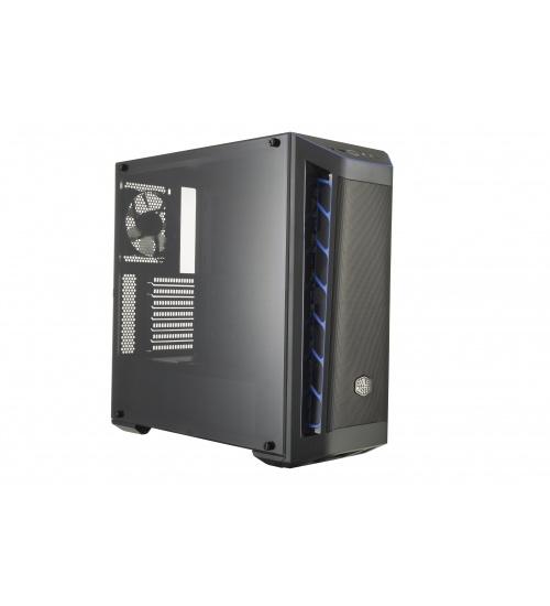 Case masterbox mb511 blue trim mesh vers., usb3x2,