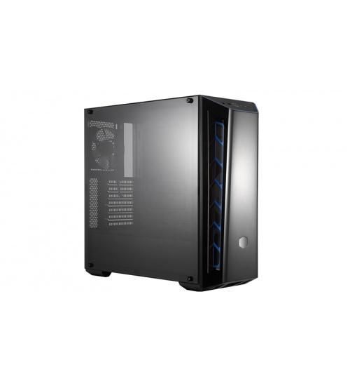 Case masterbox mb520 acryl blue, usb3x2, audio i&o,2x