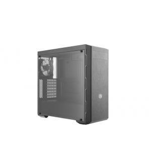 Case masterbox mb600l gunmetal, 2usb3,1x5.25,audio i&o,2x combo 2.5/3.5+ssd,120mm rear fan,radiator supp.,no psu