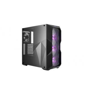 Case masterbox td500, 2usb3,audio i&o,2x 3.5/4x 2.5,3x 120mm rgb front fans 120mm black rear fan,radiator supp.,no psu