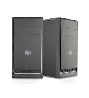 Case masterbox e300l silver, 2usb3,audio i&o,1x 5.25,2x 3.5hdd,3x 2.5ssd,120mm front fan,no psu