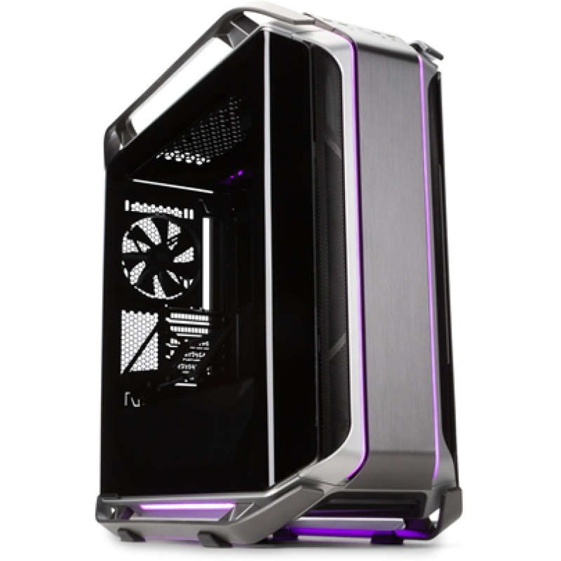 Case cosmos c700m, 4usb3, usb 3.1,fan speed e rgb control buttons,front 3x140mm fan rear 140mm fan,radiator supported