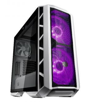 Case mastercase h500p mesh white, 2usb3,audio i&o,2x2.5