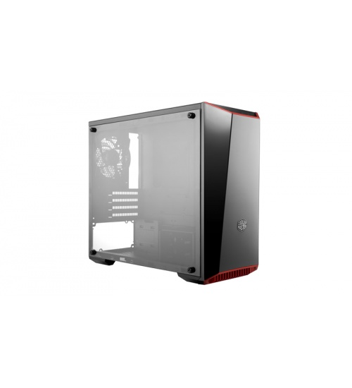 Case masterbox lite 3.1, usb3 usb2,2x3.5 2x2.5,2x 120mm front fan 120mm rear fan,radiator supp.,no psu,black