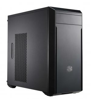 Case masterbox lite 3, 2usb3,compact size,1x5.25 1x3.5 1x2.5,2x 120mm front fan 120mm rear fan,radiator supp.,no psu,black