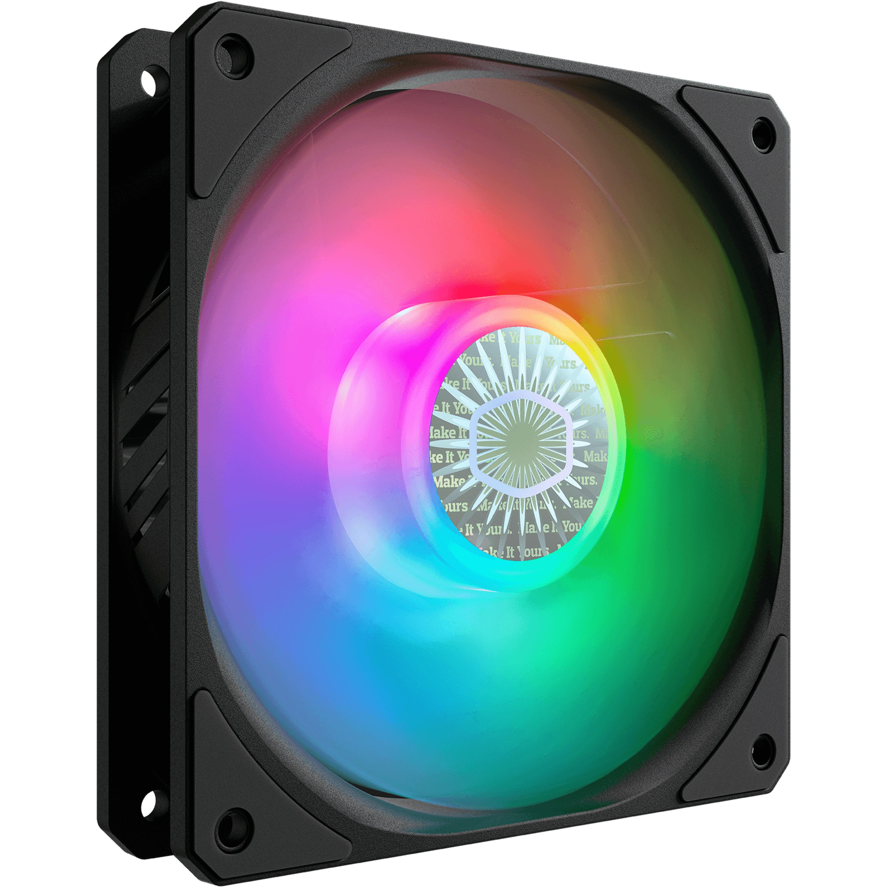 Ventola per case sickleflow 120 argb 120x120x25 4-pin (pwm) 3-pin argb