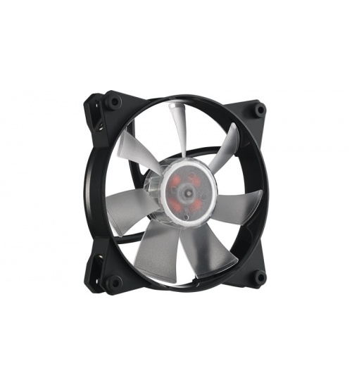 Masterfan pro 120 air flow rgb pack, ventola 120mm led, 650  1100 rpm, 3in1 con controller rgb