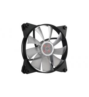 Masterfan pro 140 air pressure rgb pack, ventola 140mm led, 500  800 rpm, 3in1 con controller rgb