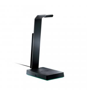 Cm gs750 stand cuffie, qi wireless, 2*usb 3.1, scheda audio 7.1 rgb