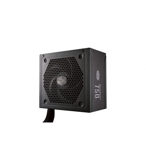 Alimentatore masterwatt 750w - 80plus bronze, active pfc, silent 120mm ldb fan, semi modulare