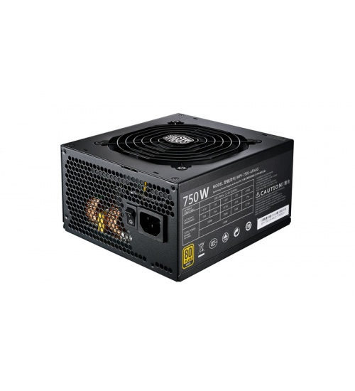 Alimentatore mwe gold 750w - modulare, 80plus gold, active pfc, 120mm