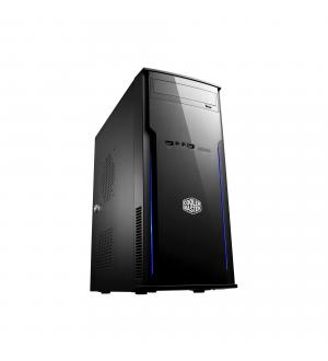Case elite 241, middle tower black no psu,card reader
