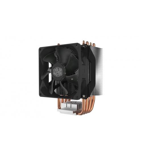 Ventola hyper 412r universal incl. lga 2066, 4x 6mm heat pipes, 92mm pwm fan, 600-2000 rpm pwm, no led