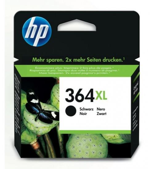 Ink hp cn684ee n.364xl nero 550pag. 5510/b8550/c5324/c5380/c6324/c6380