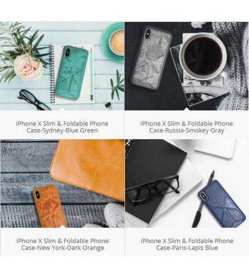 Amobii cover iphone-x & xs parigi arancione cs-a10pa11-or