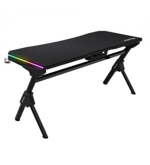 Gamdias gaming desk daedalus m1 nero 2xrgb 150x66cm waterproof
