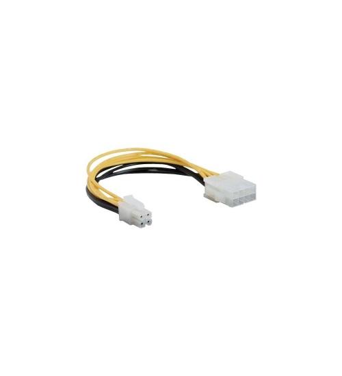 Inline cavo adattatore alimentazione interna da alimentatore atx 2.0 eps 8pin a mainboard atx 1.3 4pin, 15cm