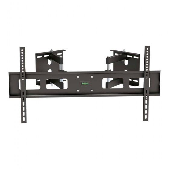 Inline staffe supporto da parete ad angolo per monitor piatto con diagonale da 94-160cm (37-63), portata 60kg, inclinabile +/-1