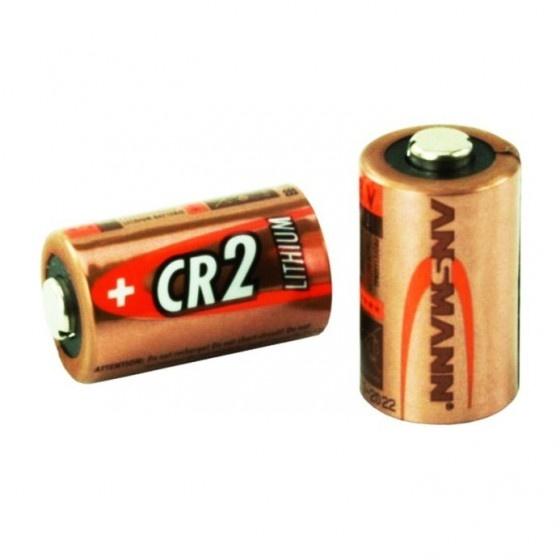 Ansmann batteria al litio cr2 da 3v per macchine fotografiche. supporta temperature tra -40 e +60 gradi. 1 pezzo