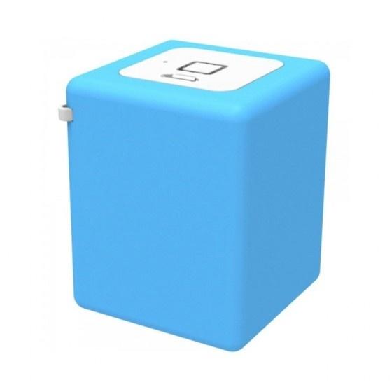 Inline mini speaker portatile 8w-blu- batteria ricaricabile, bluetooth 3.0