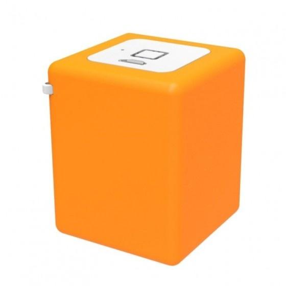 Inline mini speaker portatile 8w- arancione- batteria ricaricabile, bluetooth 3.0 arancione
