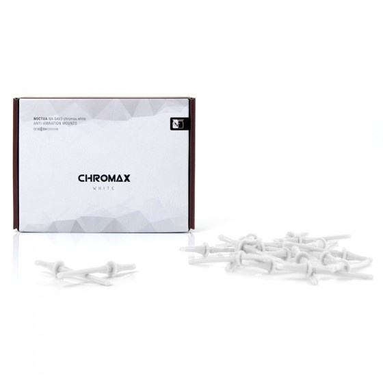 Noctua cromax na-sav2 anti-vibration mounts - white