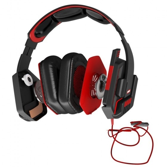 Mars gaming mh4v2 headphones 7.2 premium extreme gamer