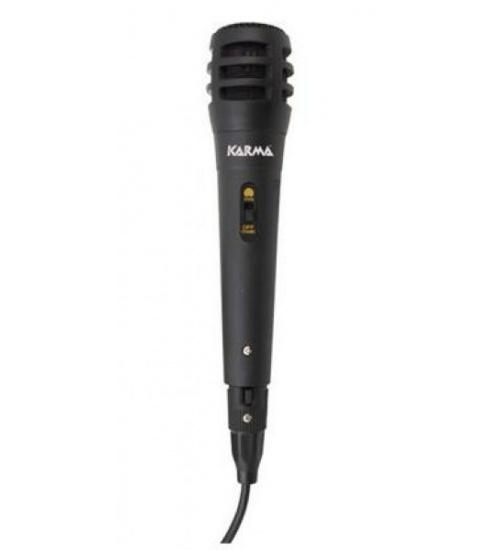 Microfono karma dinamico cavo jack 3mt 90-11000hz  630 ohm plastica
