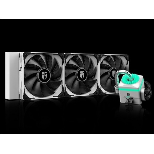 Deepcool raff. liquido captain 360x white dp-gs-h12-ct360xr-wh