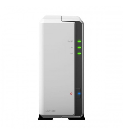 Nas synology ds119j 1hd 3.5/2.5 800mhz ram 256mb