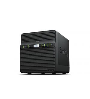 Nas synology ds418j 4hd 3.5/2.5 ram 1gb 1p lan rj45 2p usb
