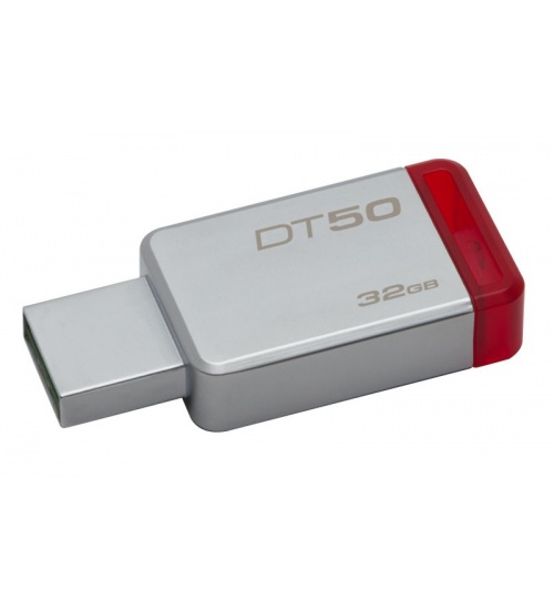 Pen drive 3.1 32gb dt50 kingston silver/red
