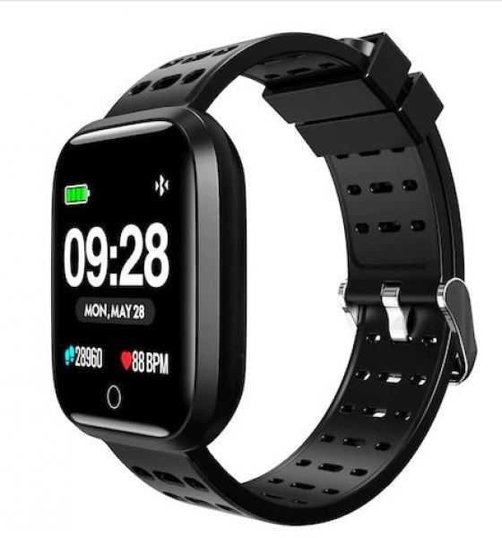 Smartwatch 1,33 touch android/ios lenovo ip67 2.5d glass camera remot