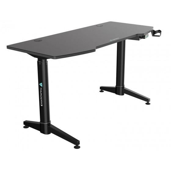 Thunder x3  ed7 gaming desk regolabile - black