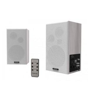 Speaker empire wb100 2.0 100w rms telecomando wireless bianche