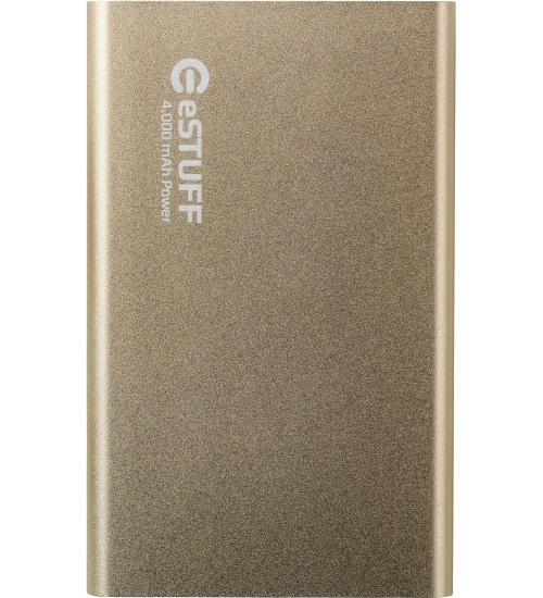 Estuff power bank 4.000mah gold