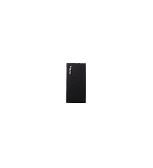 Powerbank 8000mah in alluminio nero estuff