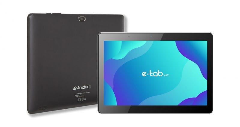 Tablet e-tab wifi 10.1 and10 silv qc/3gb/32gb/ips/hd/8mp/musb